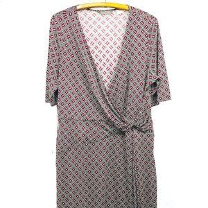 Tommy Bahama Dress 100% Silk Jersey Sz XL/16